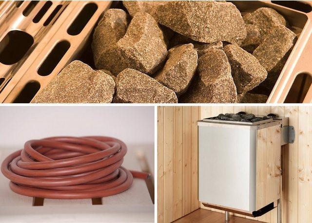 WEKA Set: Saunaofen »Kompakt«, 9 kW, integrierte Steuerung, inkl. Zubehör | Bad > Sauna & Zubehör > Saunaöfen | weka