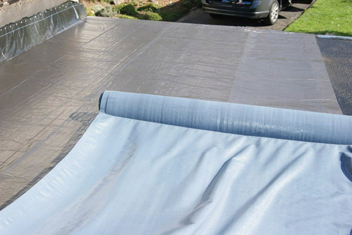 WOLFF Dachbahn , selbstklebend, für Flach- und Pultdach