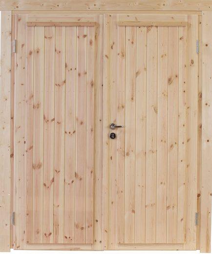 WOLFF FINNHAUS Doppeltür »Knut XL 34«, BxH: 158,8x208 cm