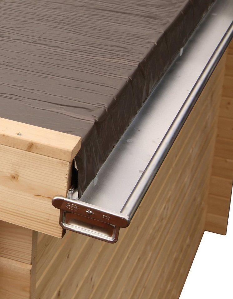 wolff dachrinne alu f r flach und pultdach bis 900 cm. Black Bedroom Furniture Sets. Home Design Ideas