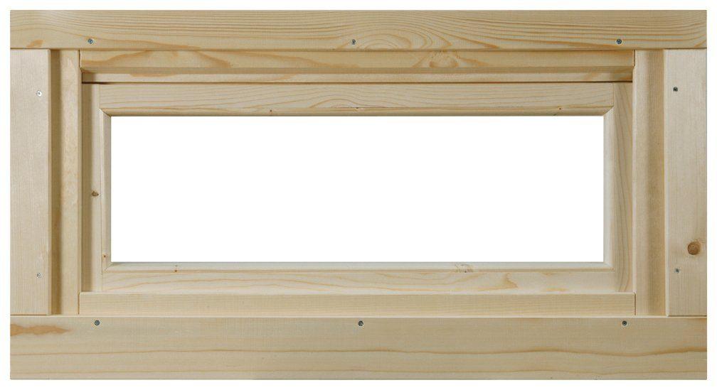 WOLFF FINNHAUS Fenster »A42-15K/40«, Kippfunktion, BxH: 92,5x45 cm