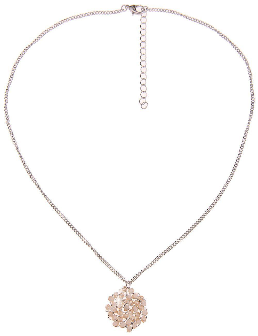 Leslii Halskette mit verdrahteten Glasperlen