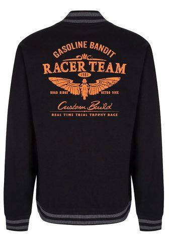 GASOLINE BANDIT ® College-Baseballjacke su coolem Moti...