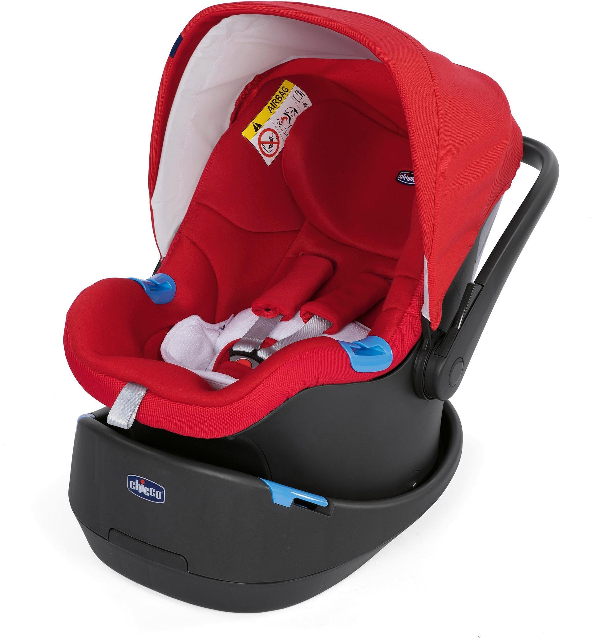 Chicco® Autositz, 0 - 13 kg, »Oasys 0+ Up, Red Passion«