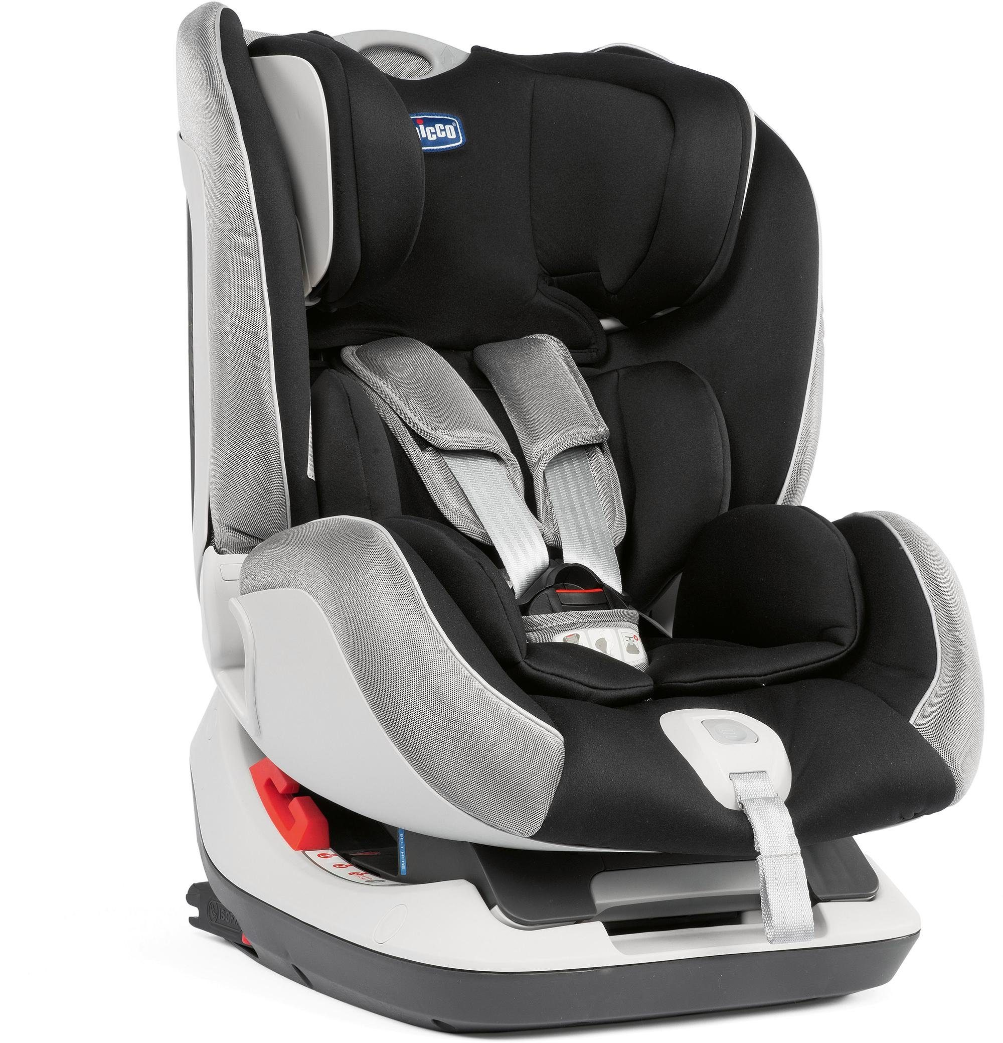 Chicco® Kindersitz, 0 - 25 kg, »Seat Up 012, Polar Silver«