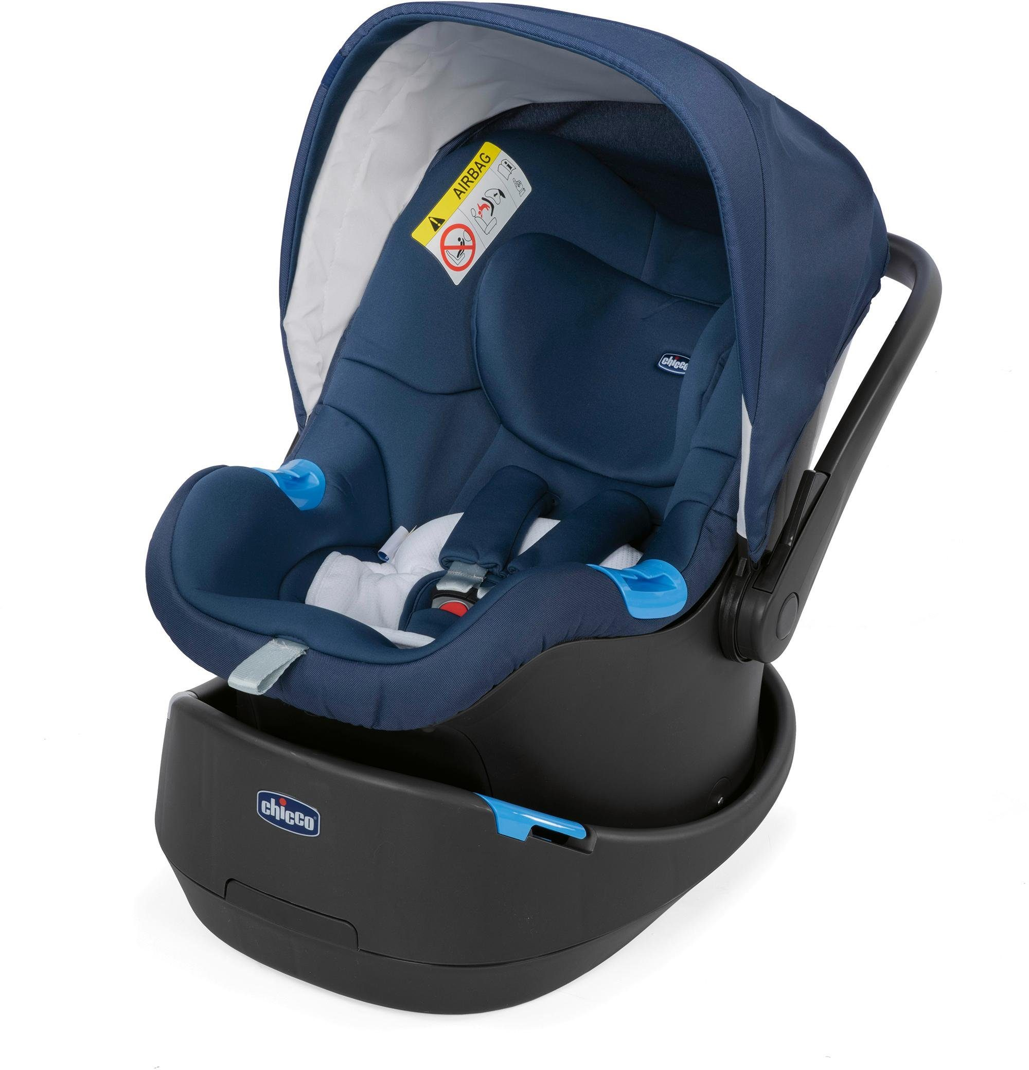 Chicco® Autositz, 0 - 13 kg, »Oasys 0+ Up, Blue Passion«