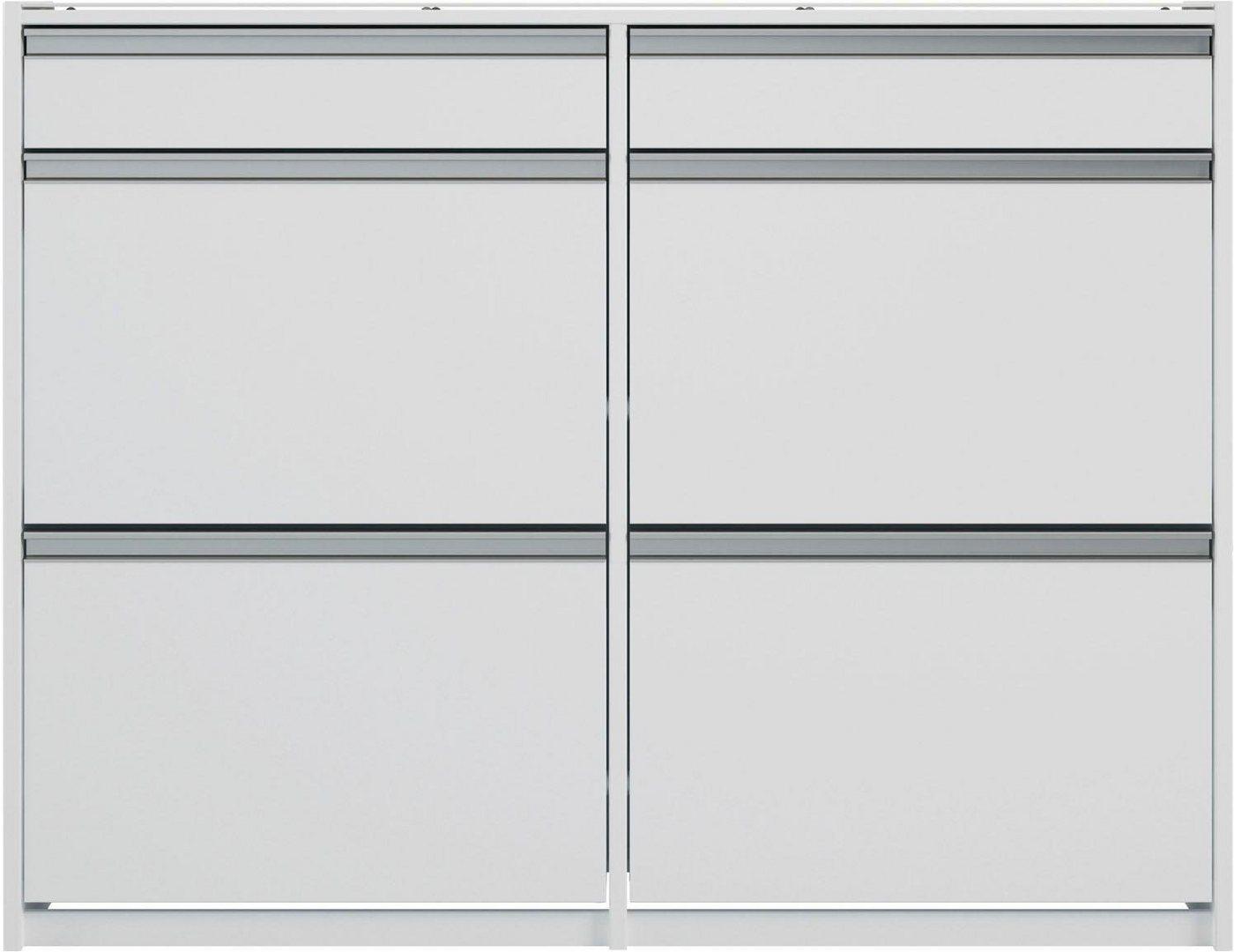 INOSIGN Schuhschrank Skyline  Breite 124 cm weiß | 05707252057664