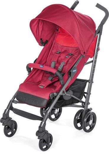 Chicco Sport-Kinderwagen »Liteway³, Red Berry«, mit Regenschutz