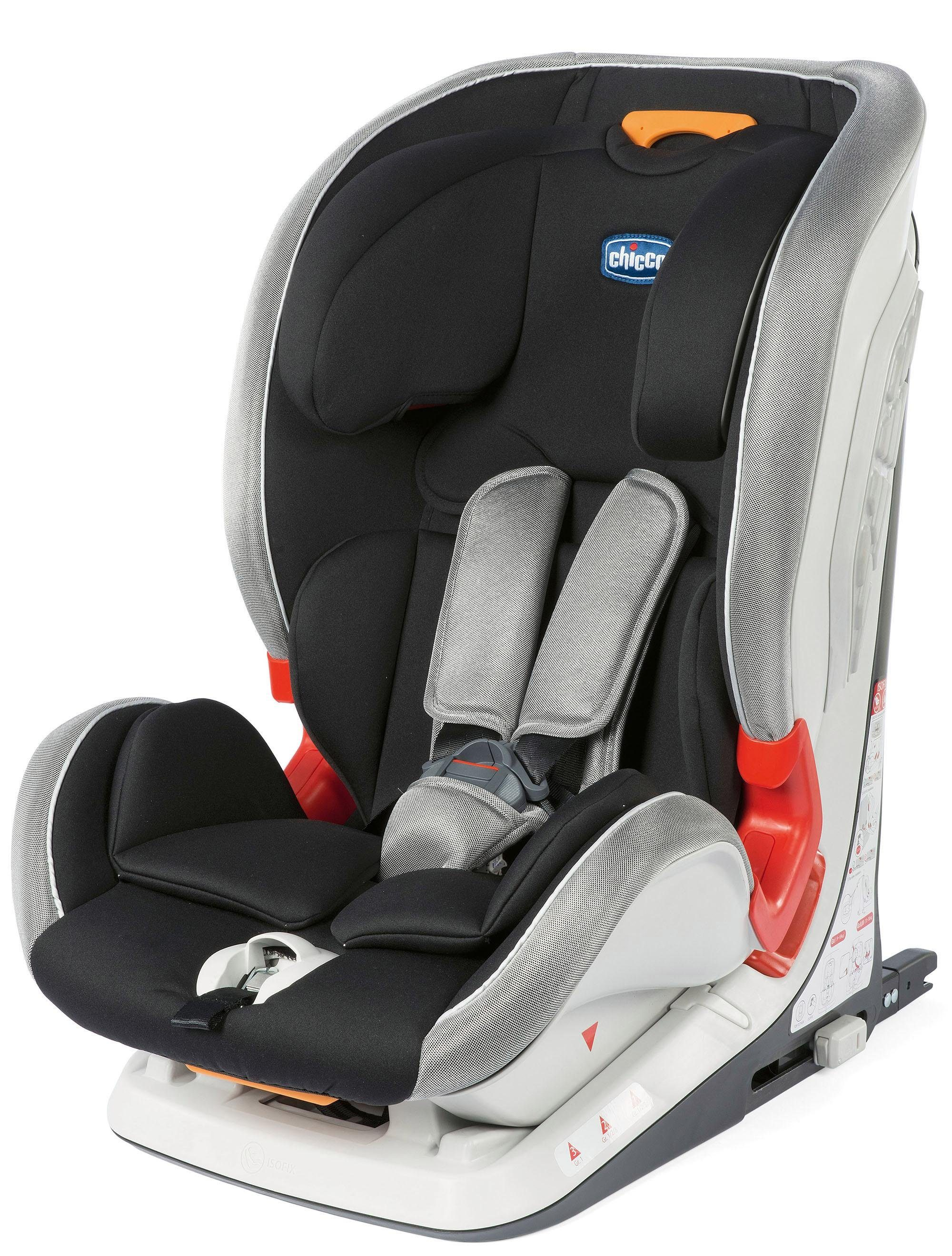 Chicco® Kindersitz, 9 - 36 kg, »YOUniverse Fix, Polar Silver«