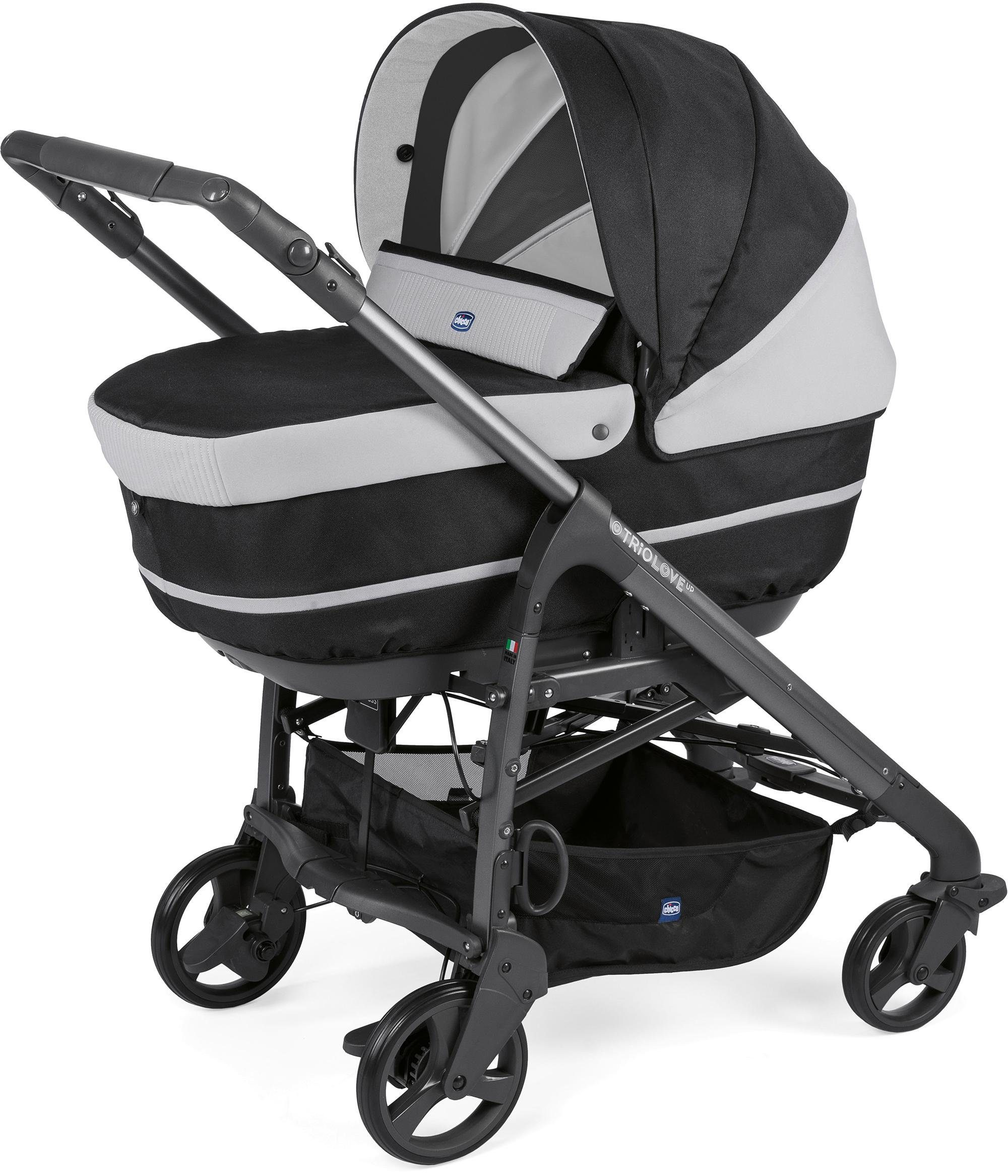 Chicco® Kombi Kinderwagen, »Duo Love Up, Jet Black«