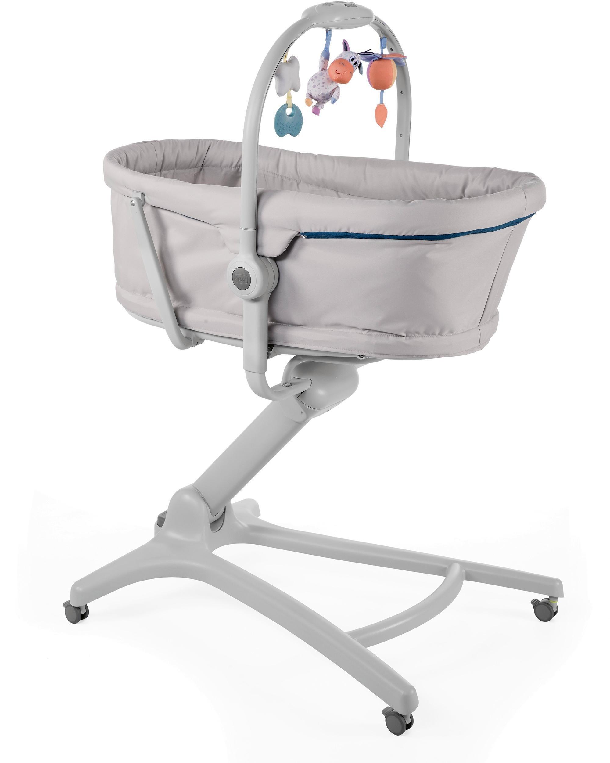 Chicco® Stubenwagen & Hochstuhl, »Baby Hug 4in1, Glacial«   Kinderzimmer > Babymöbel > Babybetten & Babywiegen   Chicco