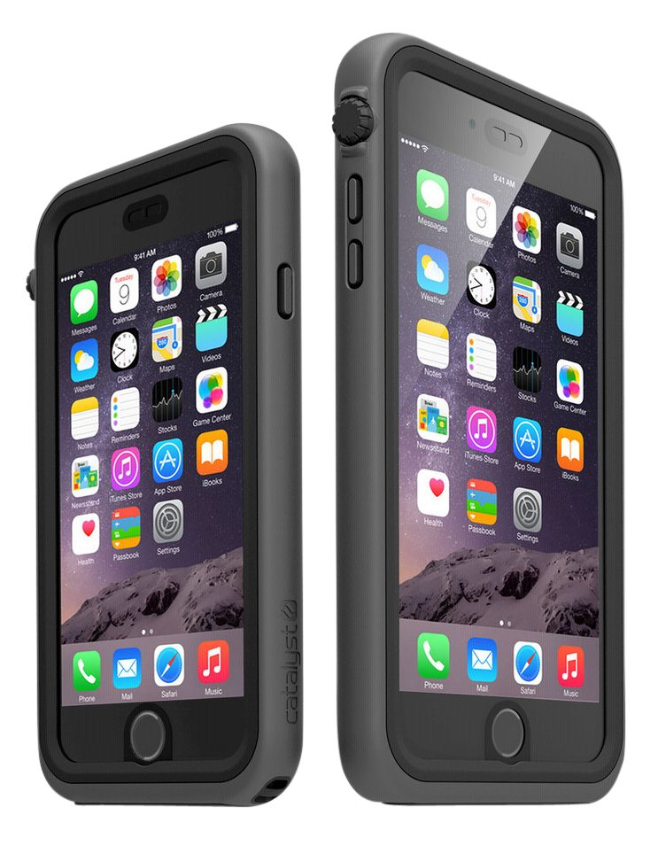 Catalyst Hülle »iPhone 6 Plus Case Wasserdicht Black & Stealth«