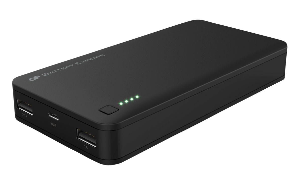 GP Batteries Powerbank »GP Portable PowerBank 3C20A 20000mAh, 2x USB out«