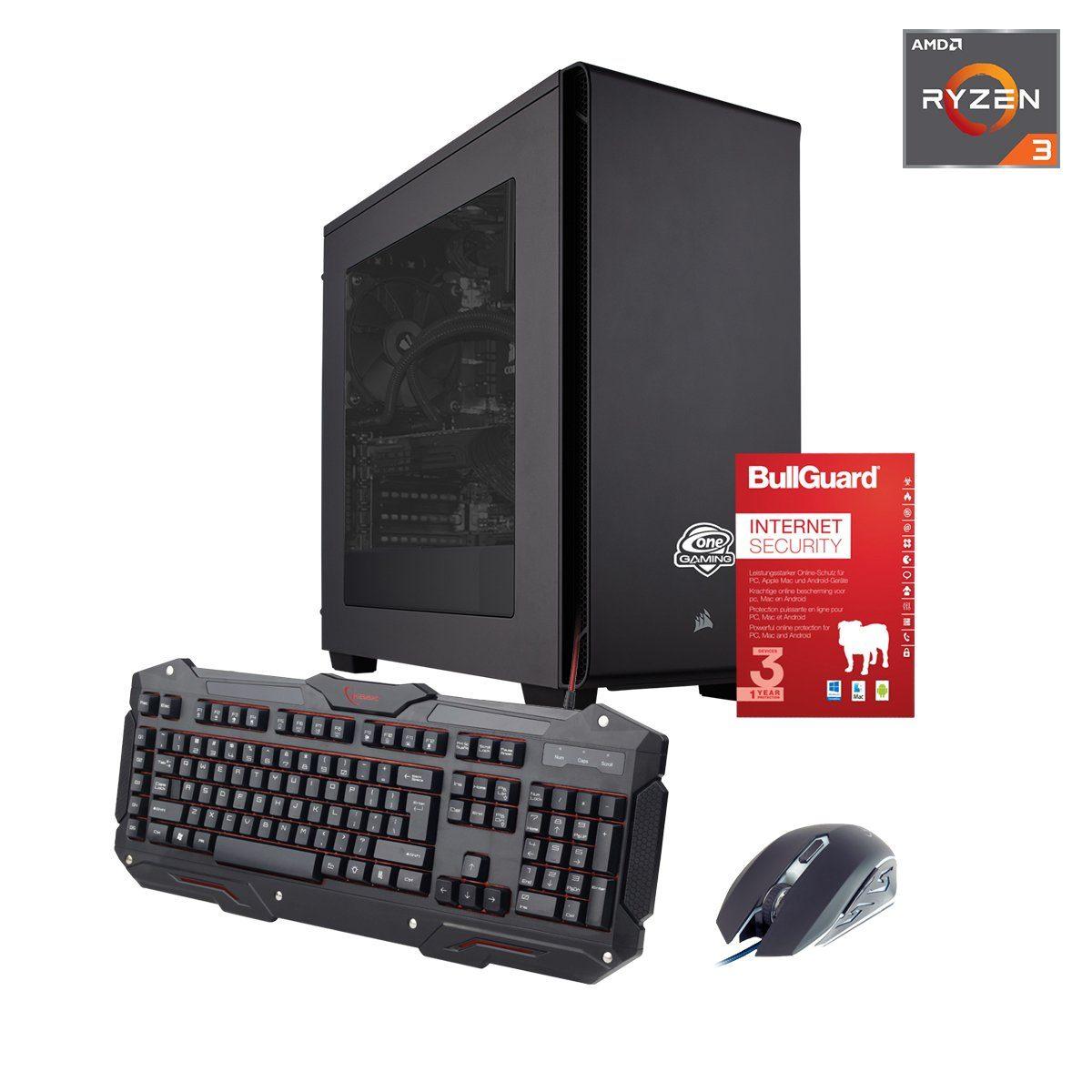 ONE GAMING PC, Ryzen 3 1200, Radeon RX 550, 8GB DDR4 SDRAM »PC 44534«