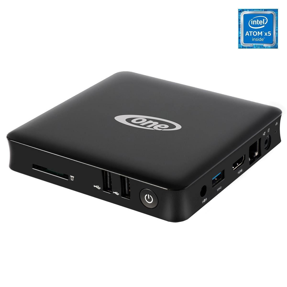 ONE Mini-PC, Media,TV,lautlos,WLAN,4K, Microsoft Windows 10 Home »ONE Xcellent Box 2.0 XL schwarz«