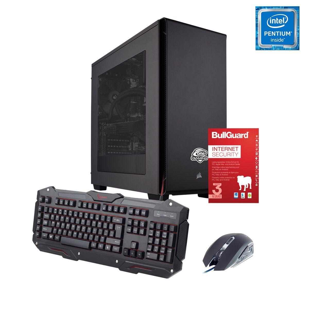 ONE GAMING PC, Pentium G4560, GeForce GTX 1050 Ti, 8GB DDR4 RAM »PC 44502«