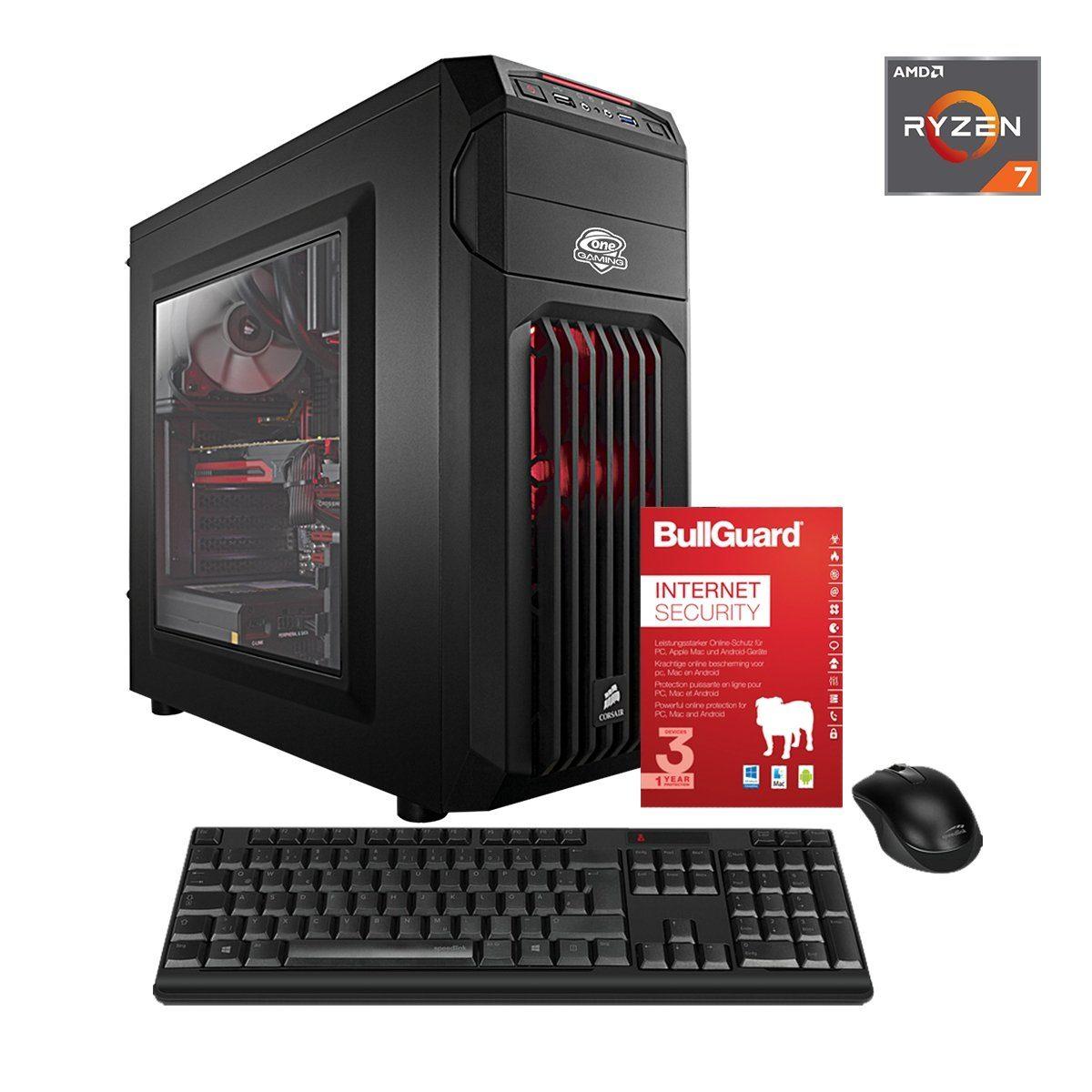ONE PC, Ryzen 5 1600, Radeon RX 550, 16GB DDR4 SDRAM »Office PC 44028«