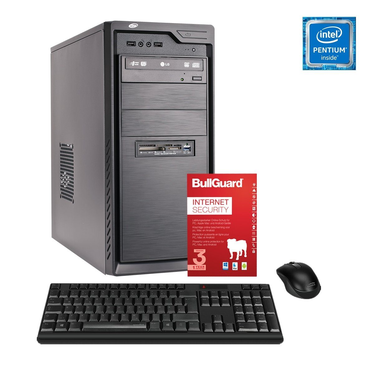 ONE PC, Pentium G4560, HD Graphics, 8GB DDR4 SDRAM »Office PC 44002«