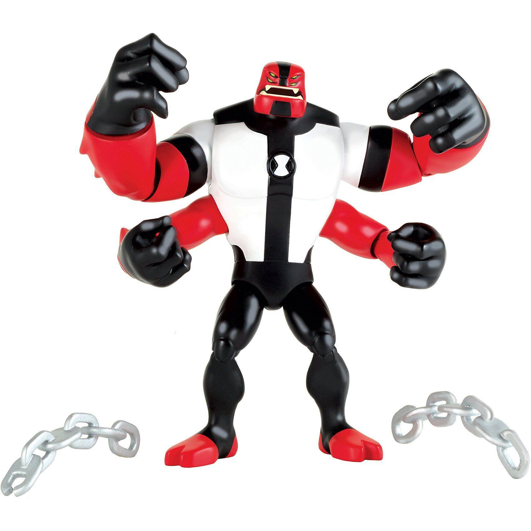 Giochi Preziosi Ben10 Actionfiguren 13cm Krake (Four Arms)