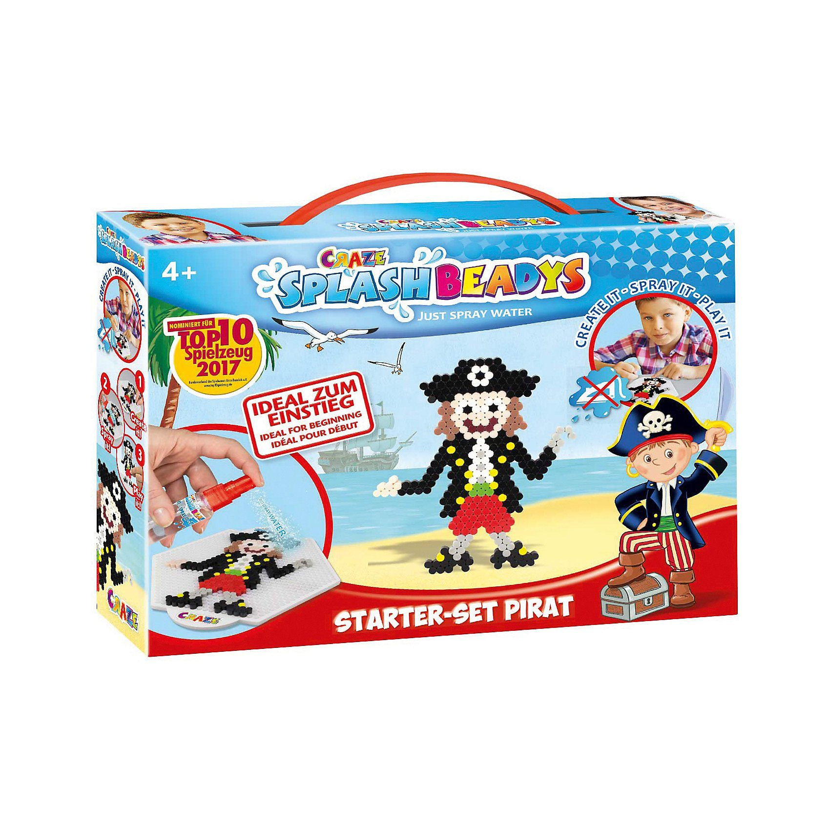 CRAZE Splash Beadys Starter Set - Pirat