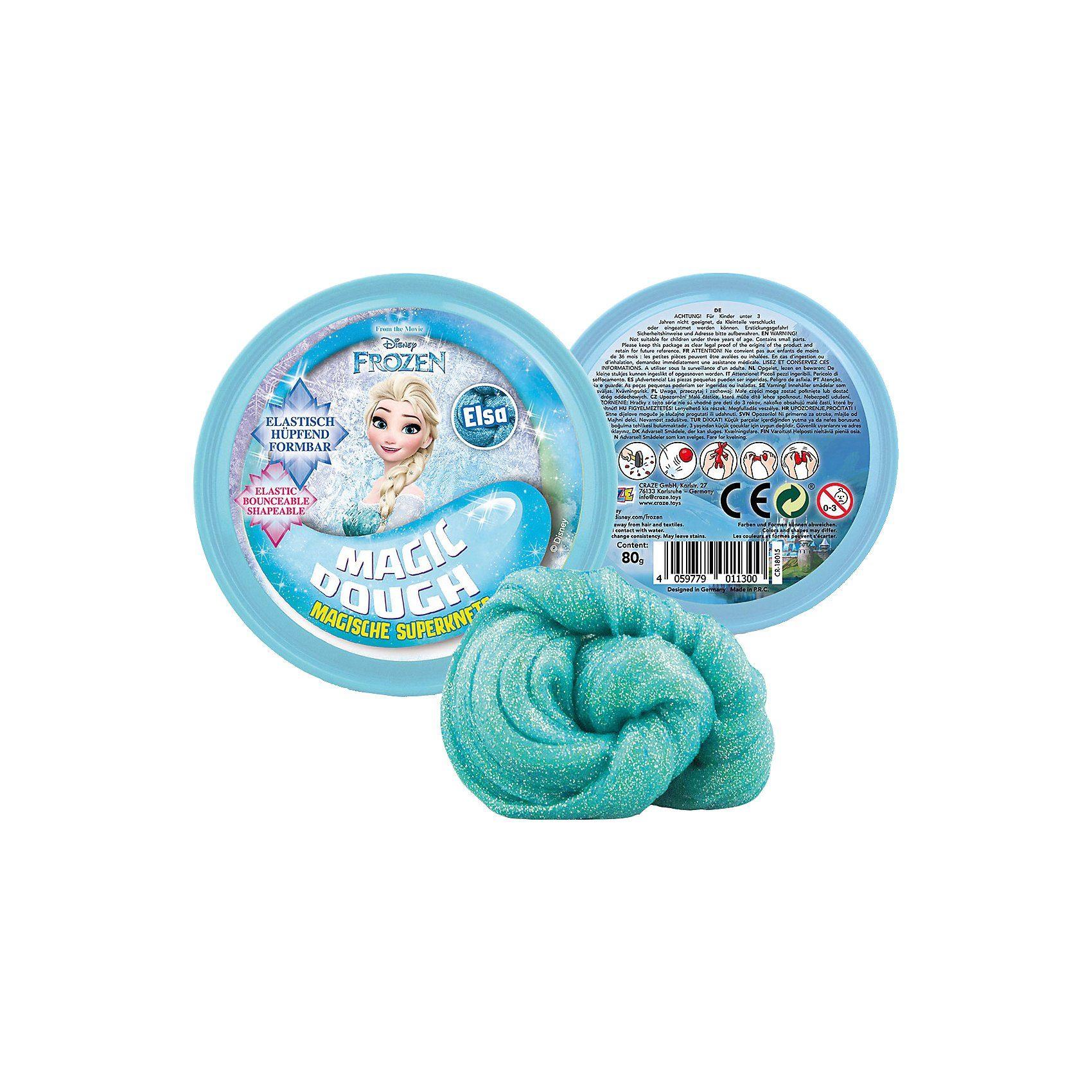 CRAZE Magic Dough - Die Eiskönigin - Elsa