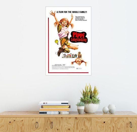 Posterlounge Wandbild »Pippi Langstrumpf«