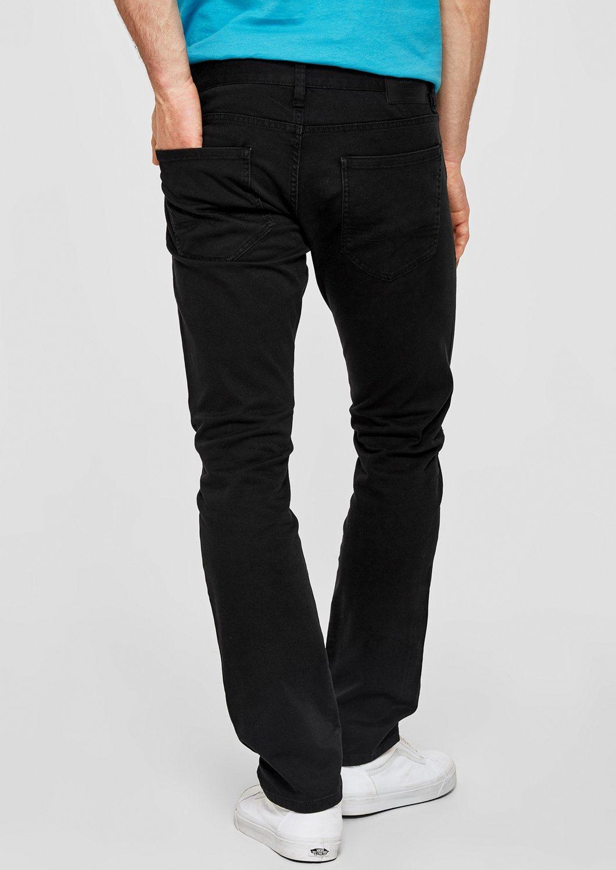 s.Oliver RED LABEL Close Slim: Schwarze Stretchjeans | Bekleidung > Jeans > Stretch Jeans | Jeans - Twill - Elasthan | s.Oliver RED LABEL