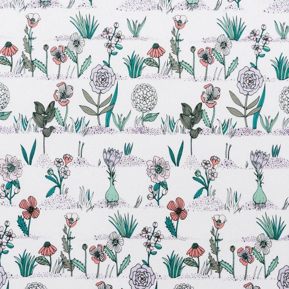 """Baumwoll-Stoff """"Blossom Carpet"""" 140 cm breit (Meterware) online kaufen"""