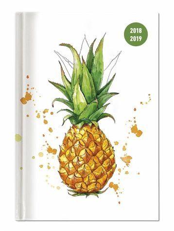 Kalender »Collegetimer A5 Tag Pineapple 2018/2019«
