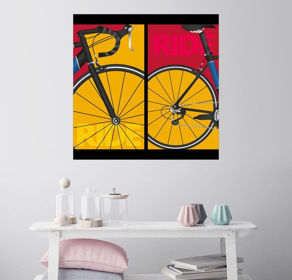 Posterlounge Wandbild »Pop Art Ride«