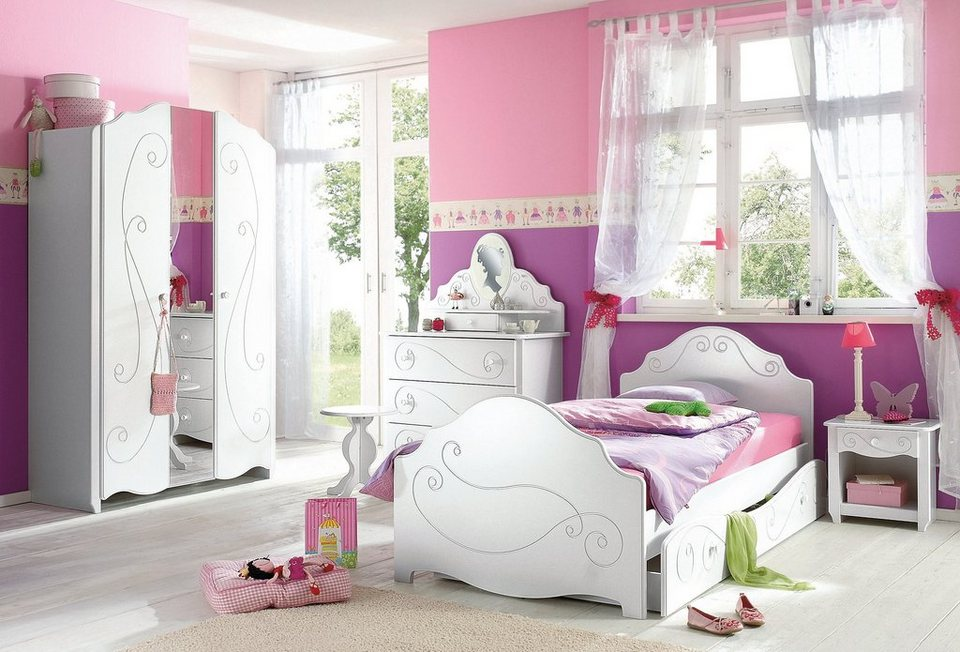 kinderzimmer ideen f r m dchen lila. Black Bedroom Furniture Sets. Home Design Ideas