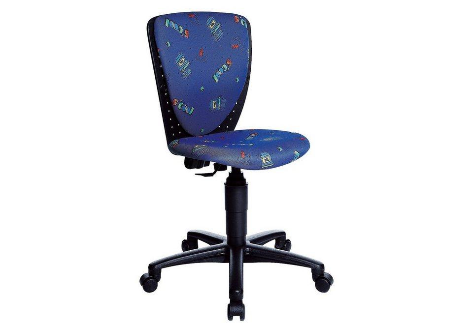 Topstar Drehstuhl, für Kinder und Jugendliche geeignet in S'Cool-blau
