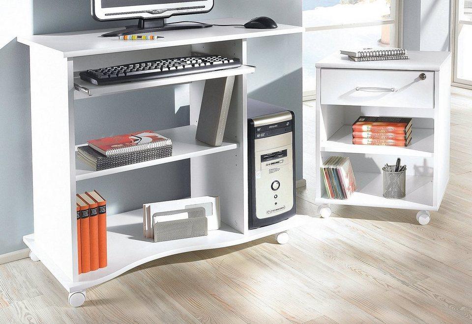 Schreibtisch, Maja Möbel, »Ribe« in weiß