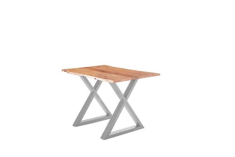 SAM® Baumkantentisch »Anea« (1 Tischplatte, 2er-Set Füße), natürliche Baumkante