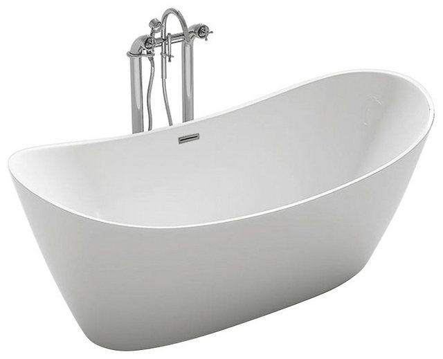 Badewannen und Whirlpools - HOME DELUXE Badewanne »Monaco«, (5 tlg), B T H in cm 170 80 72, freistehend  - Onlineshop OTTO