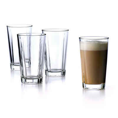 Rosendahl Gläser-Set »Grand Cru; 37 cl Kaffeeglas im 4er-Set«, Glas