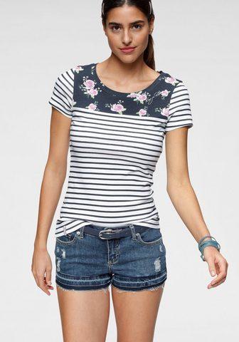 KangaROOS Marškinėliai su padėties Prints