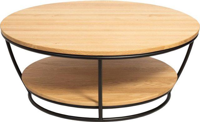 Wohnzimmertische - Premium collection by Home affaire Couchtisch »Krems«, Durchmesser Tischplatte 90,5 cm  - Onlineshop OTTO