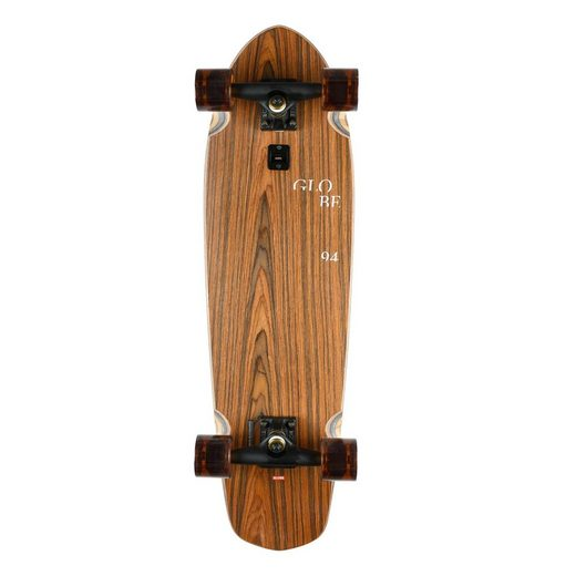 "Globe Skateboard »Cruiser Komplettboard Blazer 32"" Rosewood Cowprint«"