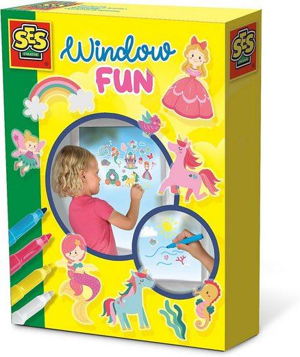 Fenstersticker »Fensterbilder - Prinzessinnen Welt«, SES Creative