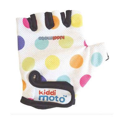 Kiddimoto Fahrradhandschuhe »Fahrradhandschuhe - Pastel Dotty / Pünktchen Bunt«