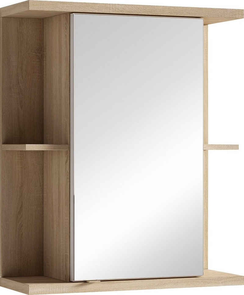 byLIVING Spiegelschrank »Nebraska« Breite 60 cm, mit großer Spiegeltür und viel Stauraum