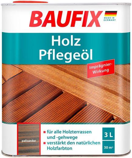 Baufix Holzschutzlasur »Palisander«, 3 Liter, braun