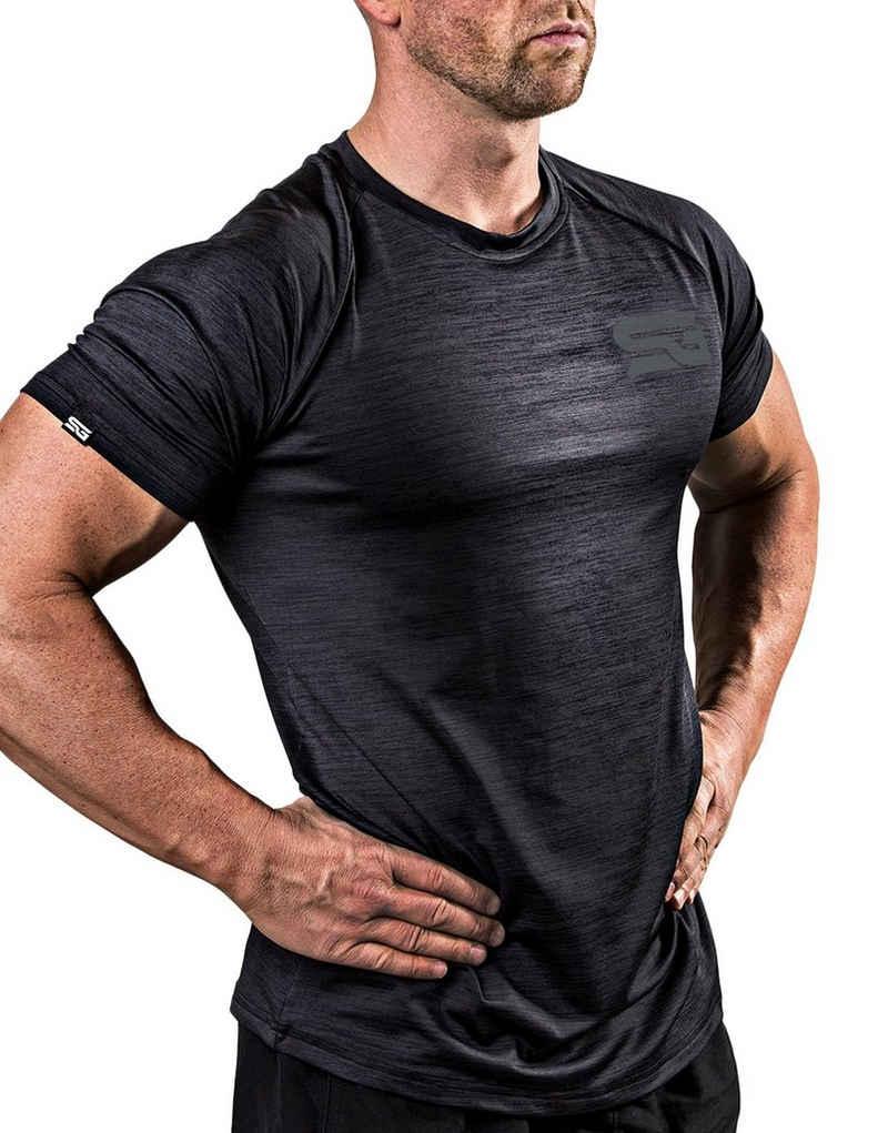 SATIRE GYM® Trainingsshirt »Workout Shirt Slim Fit«