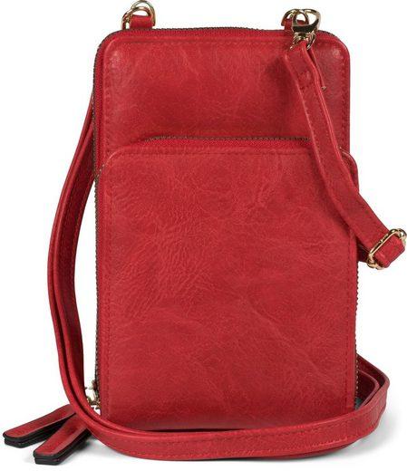 styleBREAKER Mini Bag, Mini Umhängetasche, Handytasche