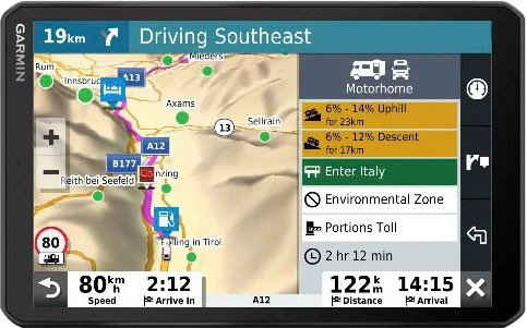 Garmin »Camper 890« Navigationsgerät (inklusive lebenslanger Kartenupdates)