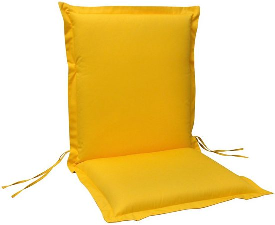 indoba Polsterauflage »Premium«, (1 St), extra dick - Gelb- IND-70441-AUNL