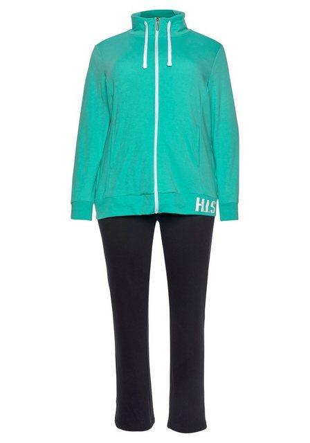 H.I.S Jogginganzug (Set, 2-tlg), Große Größen | Sportbekleidung > Sportanzüge > Jogginganzüge | H.I.S