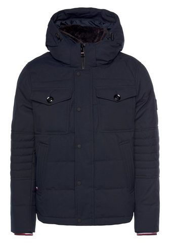 TOMMY HILFIGER Bomberjacke »REMOVABLE FUR HOODED BOMB...