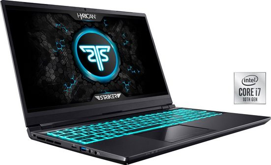 Hyrican Striker 1638 Gaming-Notebook (43,94 cm/17,3 Zoll, Intel Core i7, GeForce RTX™ 3060, 1000 GB SSD, 300 Hz Display)